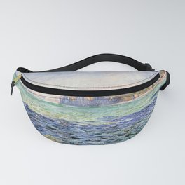Claude Monet Shadows on the Sea, The Cliffs at Pourville Fanny Pack