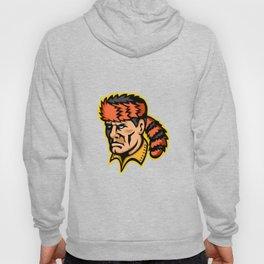 Davy Crockett Mascot Hoody