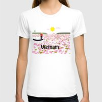 vietnam T-shirts featuring Vietnam by Design4u Studio