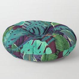 Green Tropical Floor Pillow