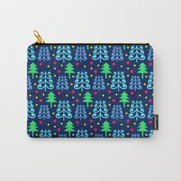 Christmas trees pattern Carry-All Pouch
