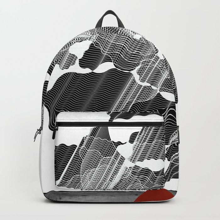 Little Red Volcano Backpack