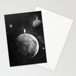 The distance of wishing.  Stationery Cards