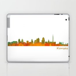 Kansas City Skyline Hq v1 Laptop & iPad Skin