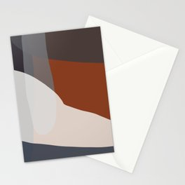 Navy & Rust VIII Abstract Stationery Cards