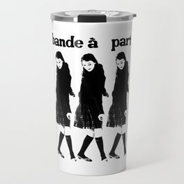 BAND A PART - ANNA KARINA / JEAN LUC GODARD- NOUVELLE VAGUE Travel Mug