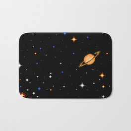 Deep  Dark  Space Bath Mat