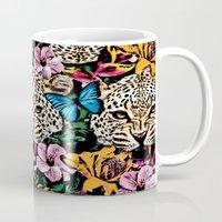 jungle Mugs featuring jungle by Marica Zottino