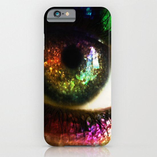 Rainbow Glitter iPhone & iPod Case