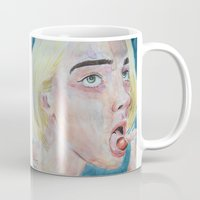 cherry Mugs featuring Cherry by SirScm