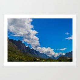 Parallel Clouds  Art Print