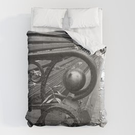 Vibrant city . Art object coupon , interiordecor . antique 7 Comforters