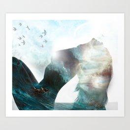 Inner Storm Art Print