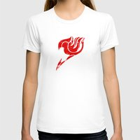 fairy tail T-shirts featuring Fairy Tail Segmented Logo circle by JoshBeck