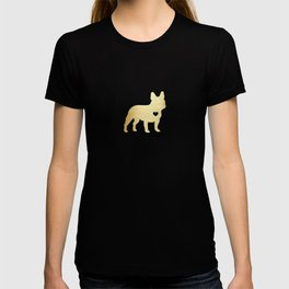 French Bulldog Gold T-shirt