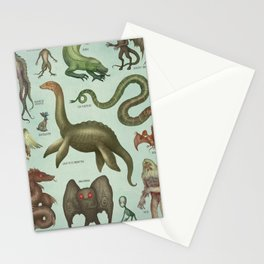 CRYPTIDS Stationery Cards