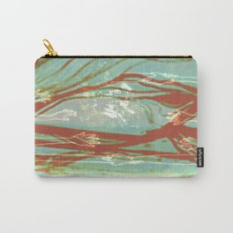 Teal and Orange Hands Carry-All Pouch
