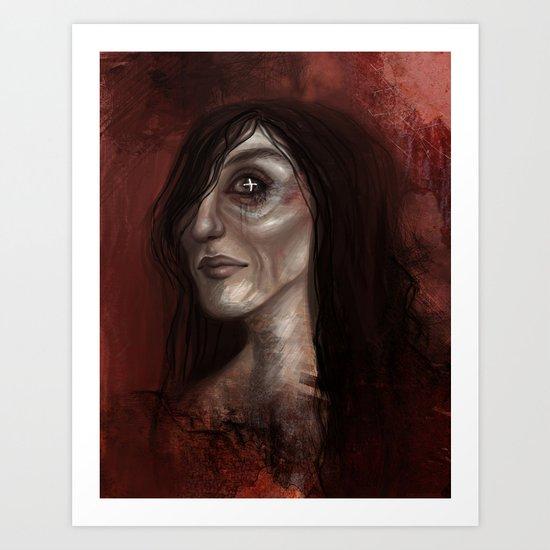 Corpse Girl Art Print