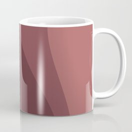 Abstract Color Waves - Red Palette Coffee Mug