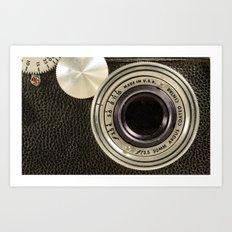 Vintage Argus camera Art Print