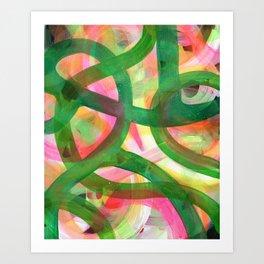 End of bloom Art Print