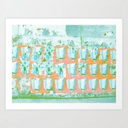 WALL PAPER NYC Art Print
