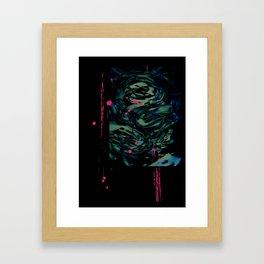 The Rip Framed Art Print