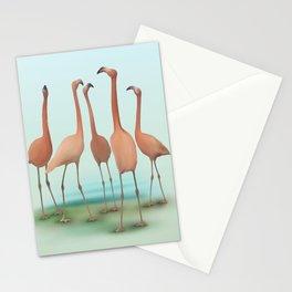 Flamingo Mingle Stationery Cards