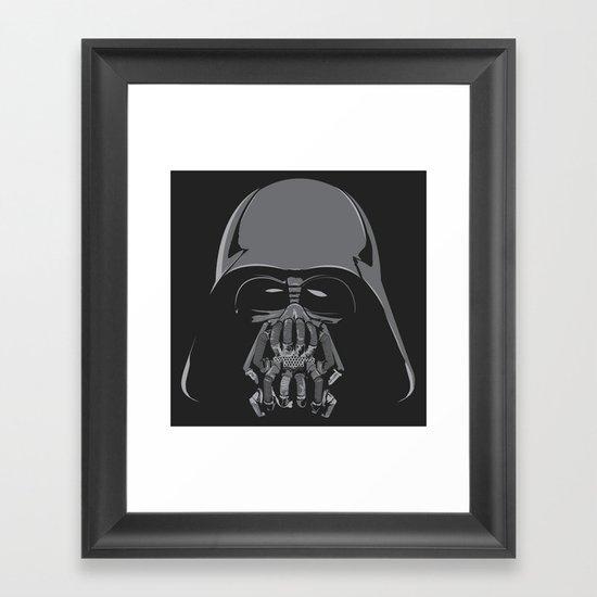 Darth Bane Framed Art Print