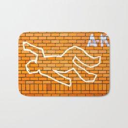 Crime Scene Bath Mat