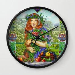 Celtic Summer Wall Clock