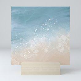 Coastal Abstract Seascape  Mini Art Print
