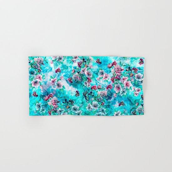 Floral Ocean II Hand & Bath Towel