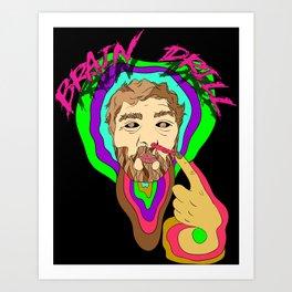 Brain Drill Art Print
