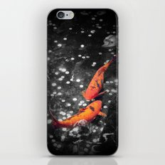 Lucky Koi Fountain iPhone & iPod Skin
