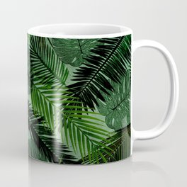 Green Foliage Coffee Mug