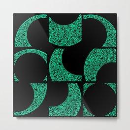 Emerald Solstice Metal Print