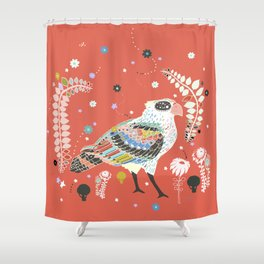 red queen Shower Curtain