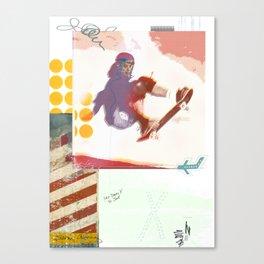 Jump so high Canvas Print