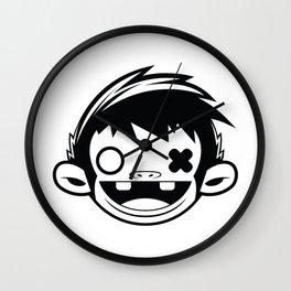 Sugar Monkey Wall Clock