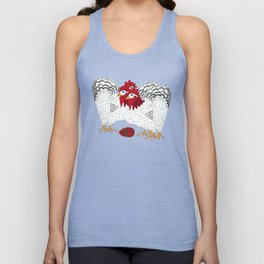 12 Days of Christmas 3 French Hens Unisex Tank Top