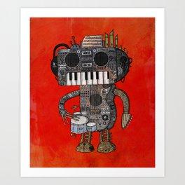 Musicbot Art Print