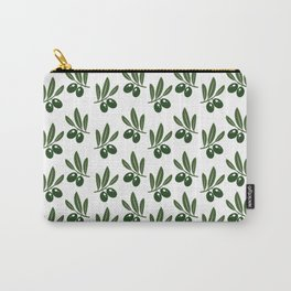 Olive Leaves Pattern Carry-All Pouch