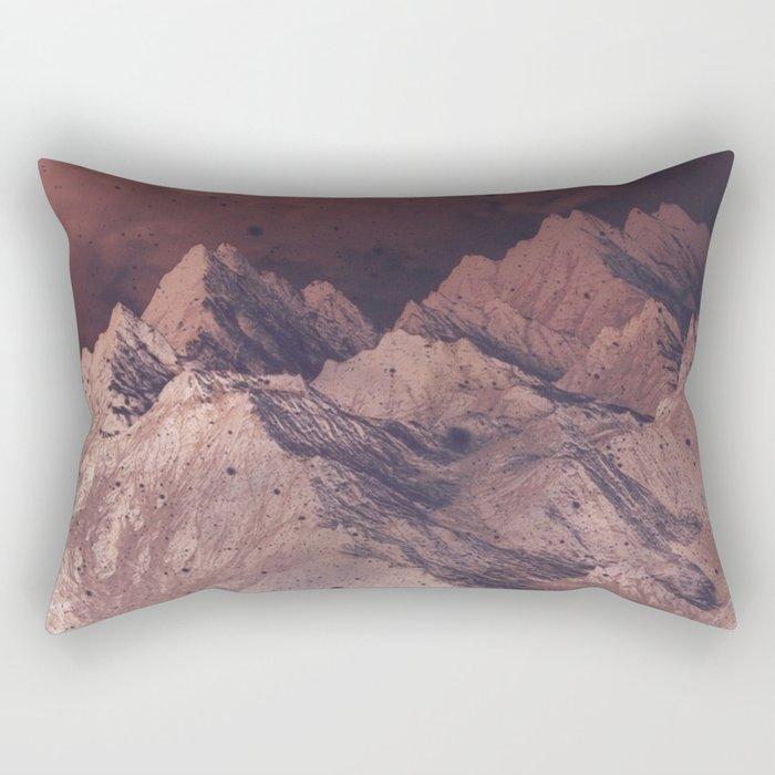 Romantic Mountains Rectangular Pillow