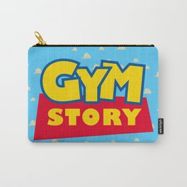 Gym Story Carry-All Pouch