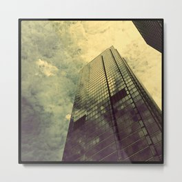 Scraping Sky Metal Print