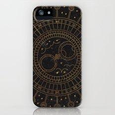 Glaston Abbey Clock iPhone (5, 5s) Slim Case