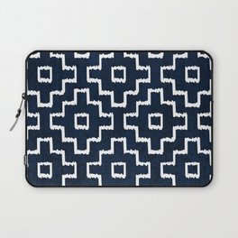 Blue Geometric Pattern Laptop Sleeve