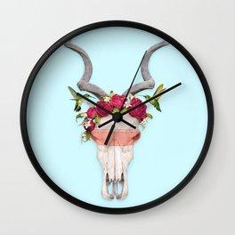 FRIDA SKULL Wall Clock