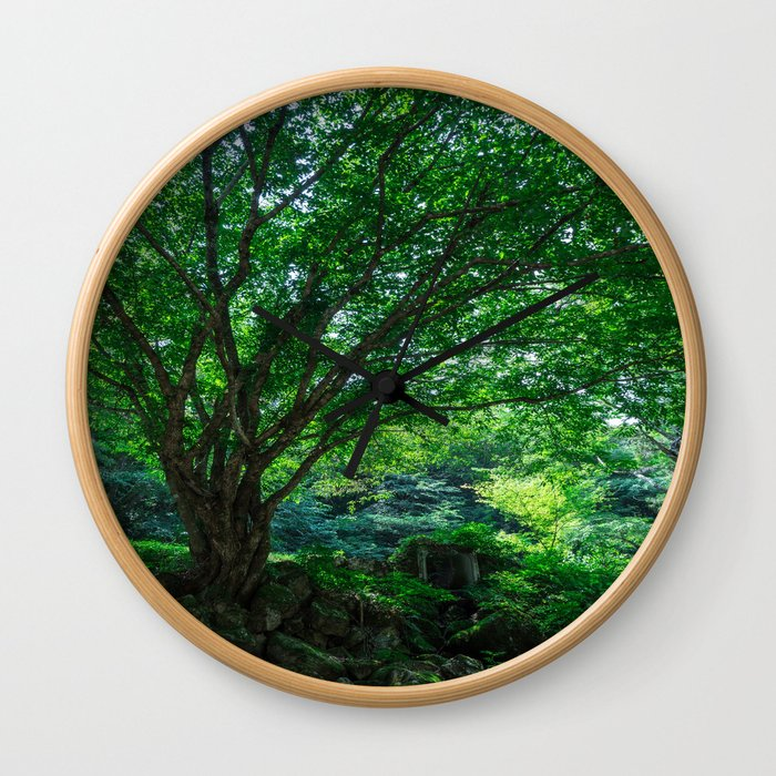 The Greenest Tree Wall Clock